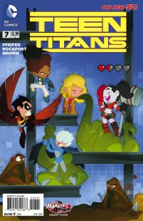 Teen Titans Vol 5 #7 Variant Sean Cheeks Galloway Harley Quinn
