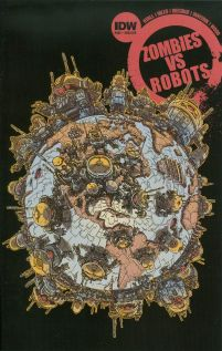 Zombies vs Robots Vol 2 #2 Variant James Stokoe Subscription