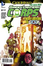 Green Lantern Corps Vol 3 #37 Bernard Chang (Godhead Act 3 Part 2)