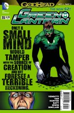 Green Lantern Vol 5 #35 Billy Tan (Godhead Act 1 Part 2)