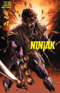 Ninjak Vol 3 #1 Regular Lewis LaRosa