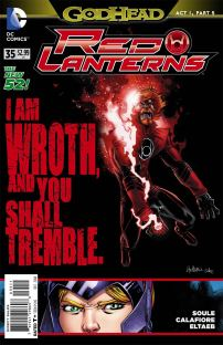 Red Lanterns #35 (Godhead Act 1 Part 5)