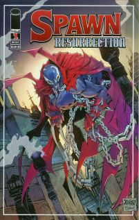 Spawn Resurrection #1 Variant Todd McFarlane