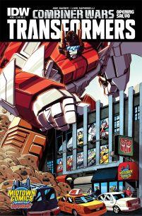 Transformers Vol 3 #39 Midtown Exclusive Variant
