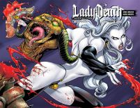 Lady Death Apocalypse #3 Wraparound