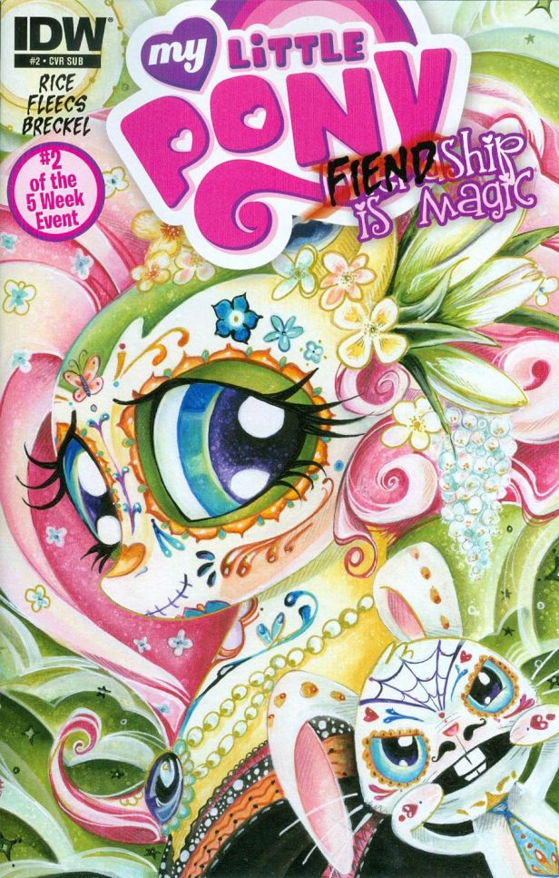 My Little Pony Fiendship Is Magic #2 Tirek Variant Sara Richard Subscription