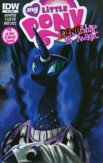 My Little Pony Fiendship Is Magic #4 Nightmare Moon Regular Amy Mebberson