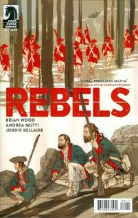 Rebels (Dark Horse) #1 Andrea Mutti