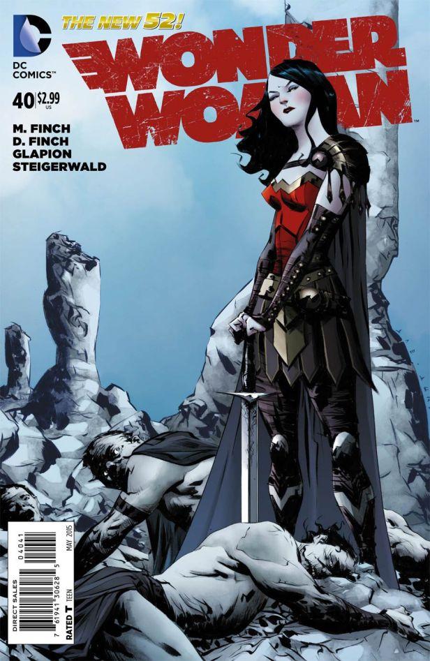 Wonder Woman Vol 4 #40 Incentive Jae Lee Variant
