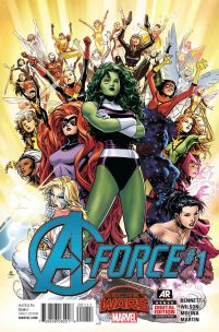 A-Force #1 Regular Jim Cheung