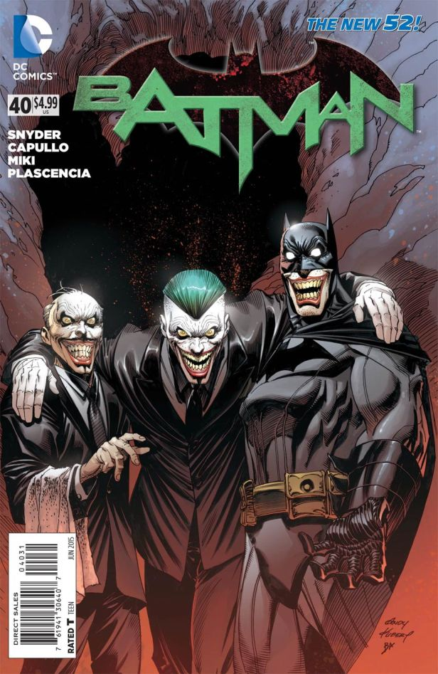 Batman Vol 2 #40 Incentive Andy Kubert Variant