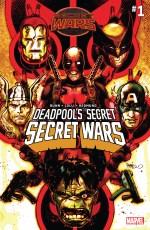 Deadpools Secret Secret Wars #1 Regular Tony Harris