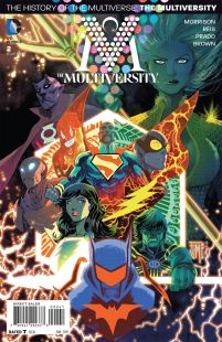 Multiversity #2 Incentive Francis Manapul Variant