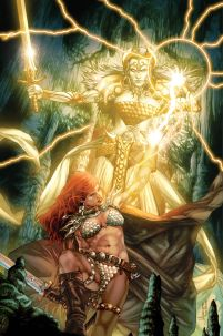 Red Sonja Vultures Circle #3 High-End Jay Anacleto Virgin Art Ultra-Limited Variant