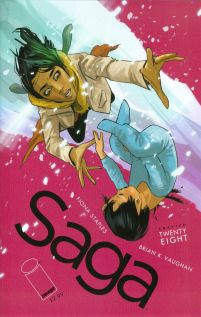 Saga #28 Fiona Staples