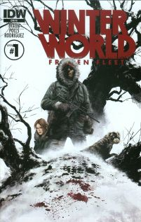Winterworld Frozen Fleet #1 Incentive Steve Epting Variant