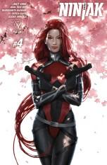 Ninjak Vol 3 #4 Regular Jelena Kevic-Djurdjevic