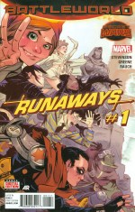 Runaways Vol 4 #1 Regular Sanford Greene