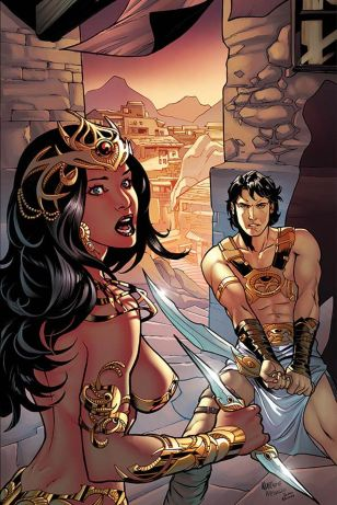 John Carter Warlord Of Mars Vol 2 #9 Incentive Emanuela Lupacchino Virgin