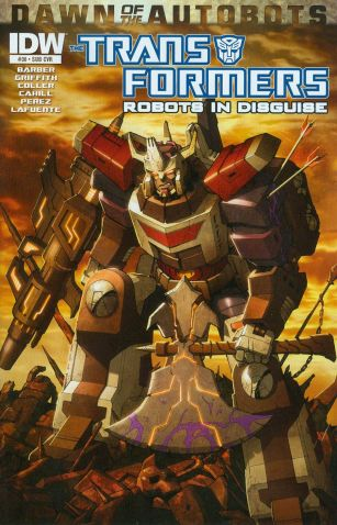 Transformers Robots In Disguise #30 Variant Casey W Coller Subscription