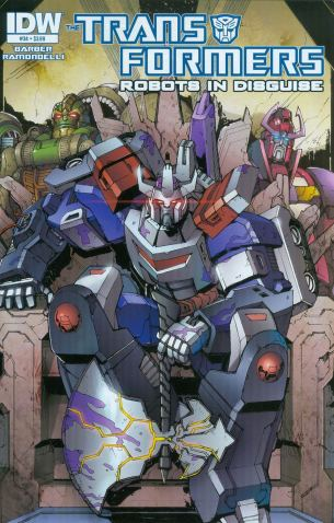 Transformers Robots In Disguise #34 Regular Andrew Griffith