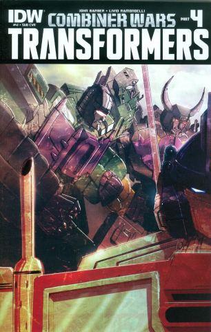 Transformers Vol 3 #41 Variant Livio Ramondelli Subscription Cover (Combiner Wars Part 4)