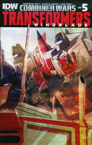 Transformers Windblade Combiner Wars #3 Variant Livio Ramondelli Subscription Cover (Combiner Wars Part 5)