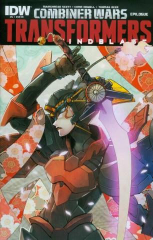 Transformers Windblade Combiner Wars #4 Incentive Naoto Tsushima Variant Cover (Combiner Wars Epilogue)