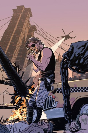 Escape From New York #9 Incentive Greg Smallwood Virgin Variant