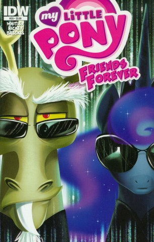 My Little Pony Friends Forever #20 Regular Amy Mebberson