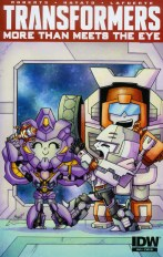 Transformers More Than Meets The Eye #44 Incentive Agnes Garbowska Variant