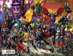 Avengers Vol 6 #0 Incentive Arthur Adams Wraparound Variant