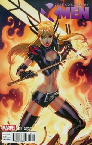 Extraordinary X-Men #1 Incentive J Scott Campbell Variant