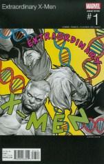 Extraordinary X-Men #1 Variant Sanford Greene Marvel Hip-Hop