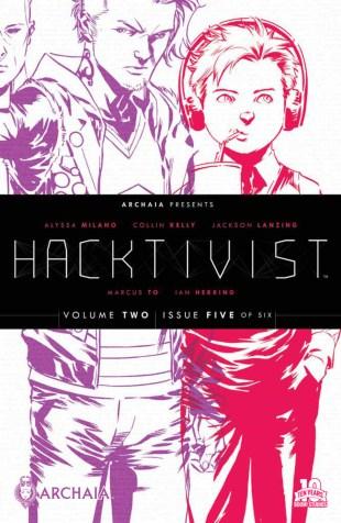 Hacktivist Vol 2 #5 Marcus To