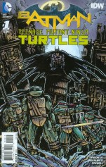 Batman Teenage Mutant Ninja Turtles #1 Incentive Kevin Eastman Variant