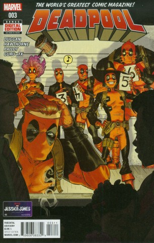 Deadpool Vol 5 #3 Regular Tony Moore