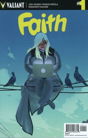 Faith (Valiant Entertainment) #1 1st Ptg Regular Jelena Kevic-Djurdjevic