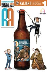 Archer & Armstrong David Lafuente American Pale Ale C2E2 Party Variant
