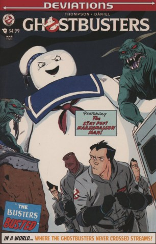 Ghostbusters Deviations One Shot Variant Dan Schoening Subscription