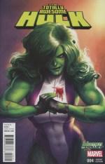 The Totally Awesome Hulk #4 Women of Power Variant Meghan Hetrick