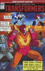 Transformers Deviations One Shot Variant Casey W Coller Subscription