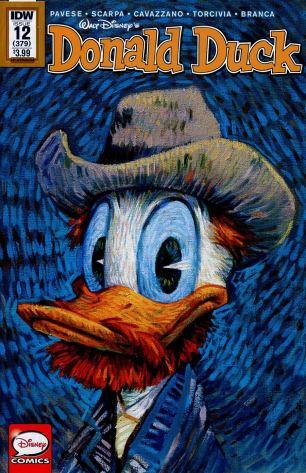 Donald Duck Vol 2 #12 Variant Wouter Tulp Art Appreciation