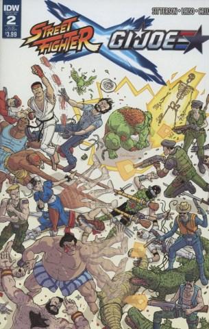 Street Fighter x GI Joe #2 Variant Nick Pitarra Subscription