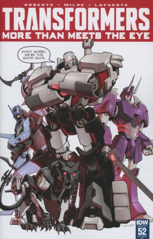 Transformers More Than Meets The Eye #52 Incentive Priscilla Tramontano Variant