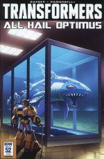 Transformers Vol 3 #52 Variant Casey W Coller Art Appreciation
