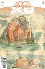 4001 AD X-O Manowar #1 Incentive Matt Kindt Character Design Variant
