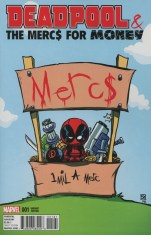 Deadpool And The Mercs For Money Vol 2 #1 Variant Skottie Young Baby