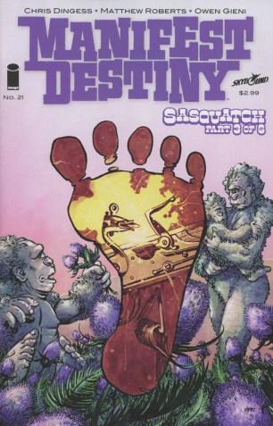 Manifest Destiny #21 Matthew Roberts