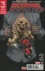 Deadpool Vol 5 #21 Regular Mike Hawthorne